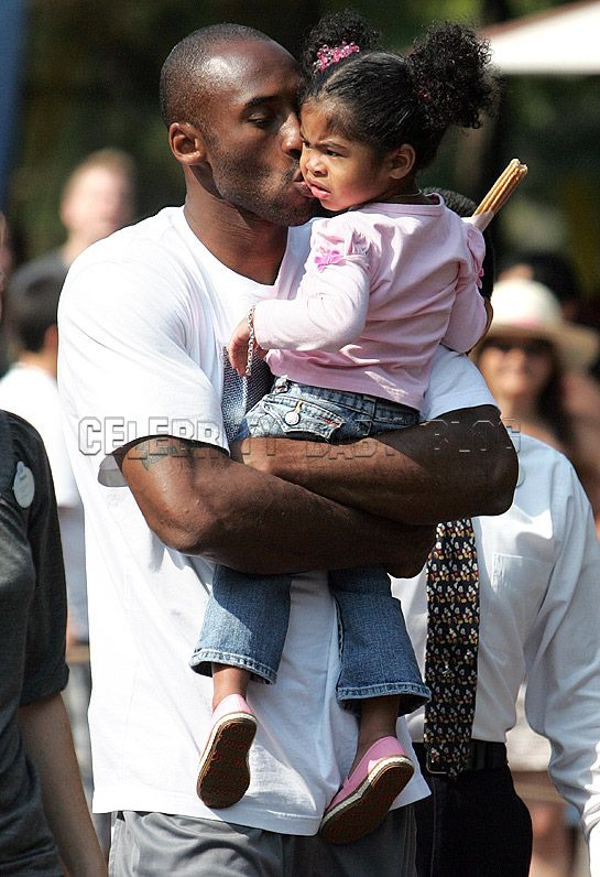 p.s…is there anything sexier than Kobe Bryant adoring his daughter?