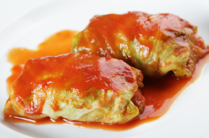 Post image for Stuffed Cabbage Rolls (a.k.a. Pigs In A Blanket)