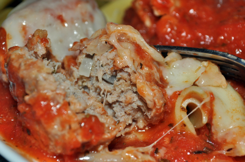 Post image for Turkey Meatballs with Zesty Marinara Sauce