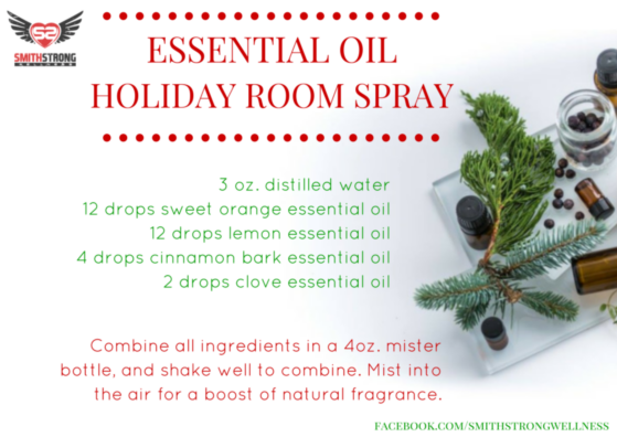Post image for Essential Oil Holiday Room Spray